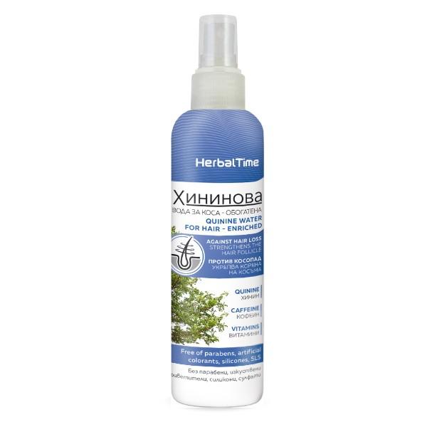Хининова вода за коса – Обогатена