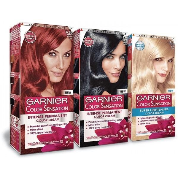 Garnier Color Sensation - боя за коса