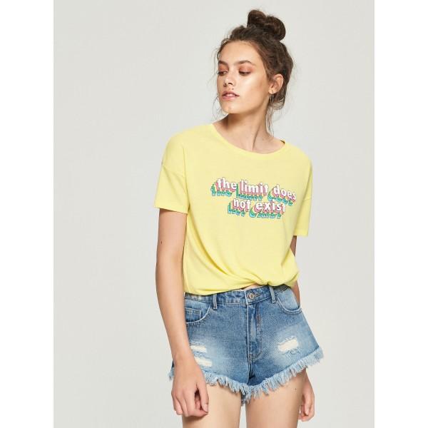 Тениска Sinsay код 841