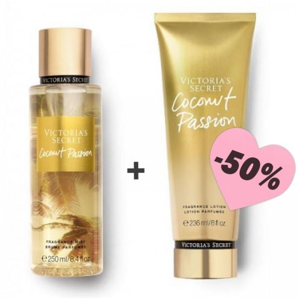 Оферта лосион и парфюмен спрей VS Coconut Passion