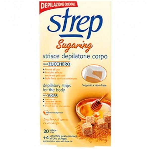 Депилиращи ленти за тяло Sugaring Strep - 20бр.