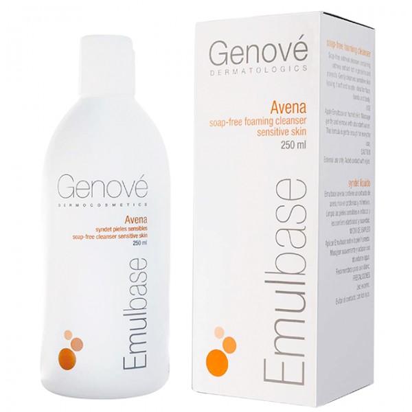 Почистващ гел за лице с Авена сатива, без сапун 250 мл Genove