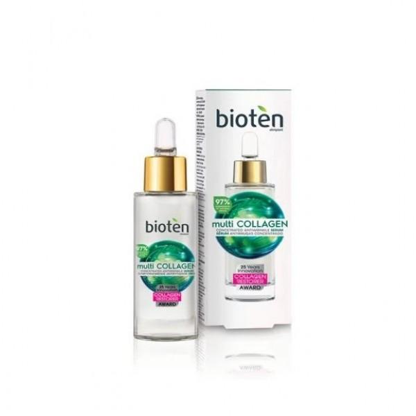 Серум концентрат потив срещу бръчки Multicollagen Bioten 30мл