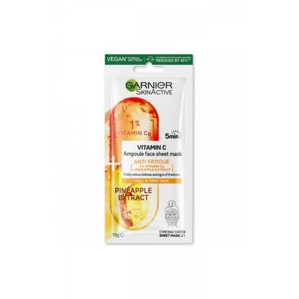Лист маска ампула с витамин С Garnier