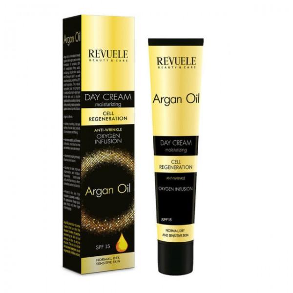 Revuele Дневен крем за лице Argan Oil SPF 15