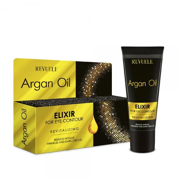 Revuele Елексир за околоочен контур Argan Oil