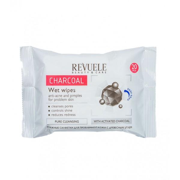 Revuele кърпички с активен въглен - 20бр.