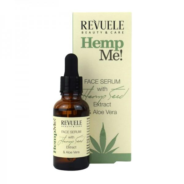 Revuele Hemp me! Серум за лице с конопено масло