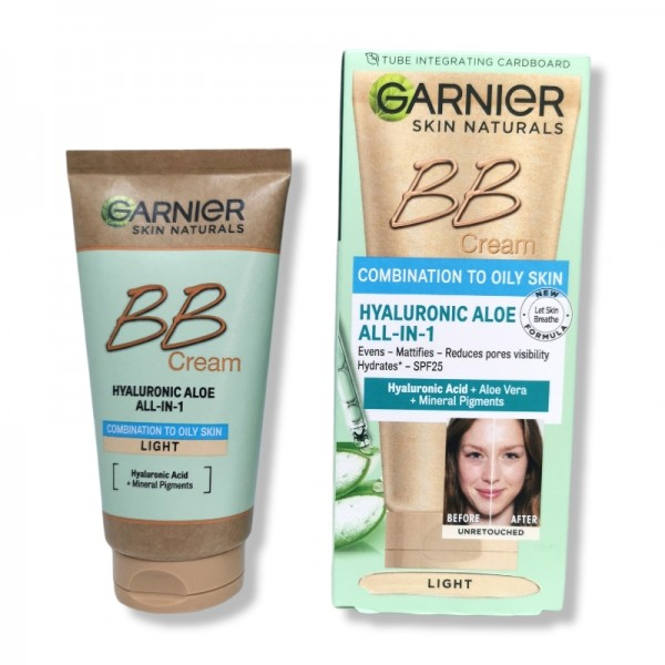 BB крем Garnier Combination to Oily Skin цвят Light