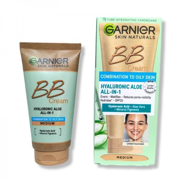 BB крем Garnier Combination to Oily Skin цвят Medium